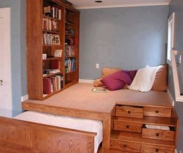 Несколько блестящих идей для маленькой спальни