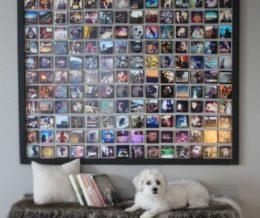 Как оформить стены фотографиями