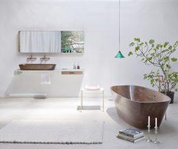 «Shell Bathtub» – люксовая сантехника, сделанная из дерева
