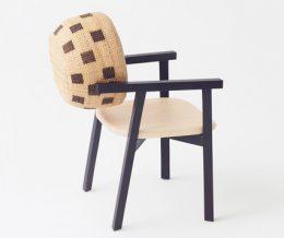 Плетеные корзины в качестве элемента дизайна в новой серии мебели от «Nendo»