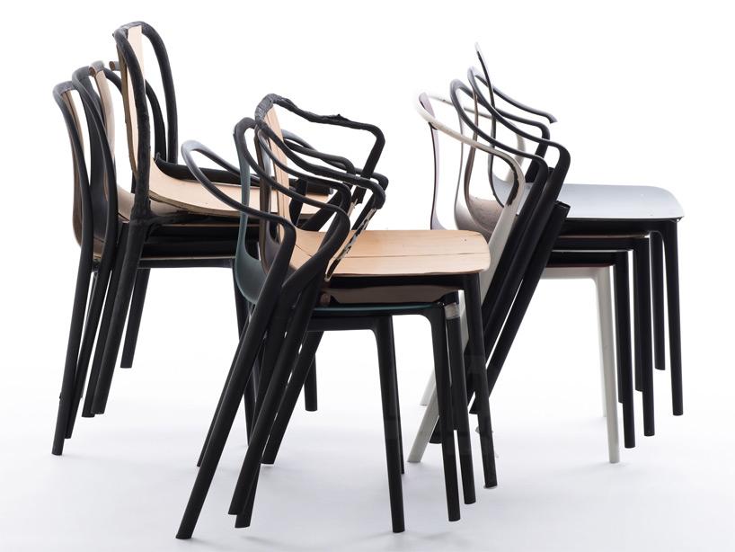 школа стульев «Бельвиль» в разработке