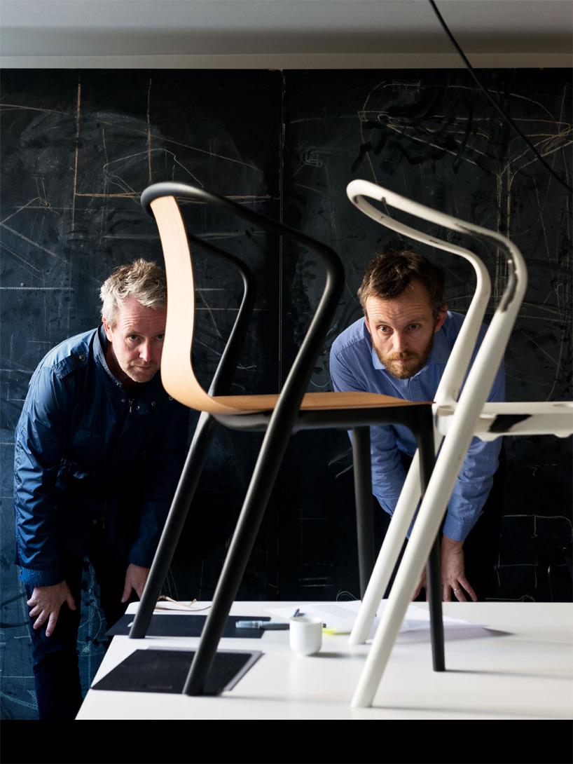 Ronan и Ervan Bouroullec предусмотрели хорошо сбалансированные пропорции элементов