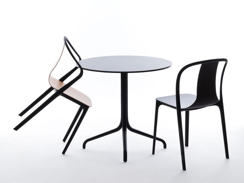 круглый стол и кресла «Бельвиль»