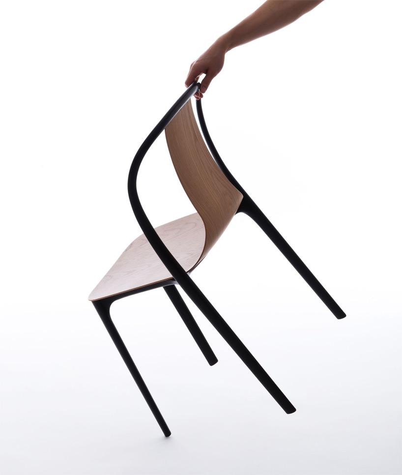 стулья «Бельвиль» очень легкие