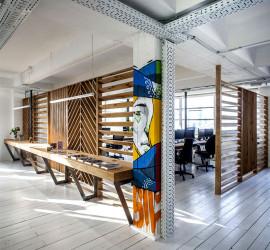 Дизайн-проект современного офиса от мастерской Studio Roy David