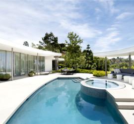 Дом в Беверли-Хиллз от дизайн студии Dennis Gibbens Architects