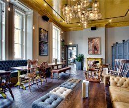 Дизайн современного ресторана и паба от дизайн студии DV8 Designs
