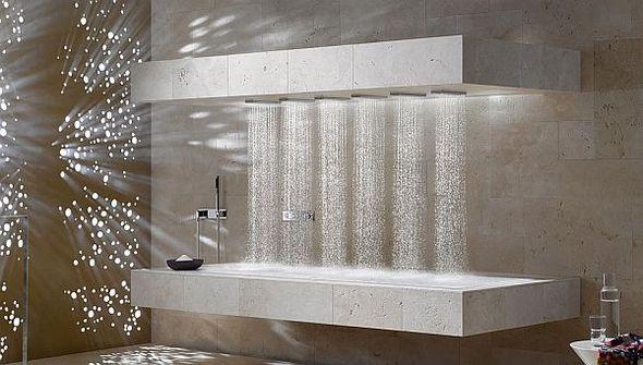 Современный горизонтальный душ