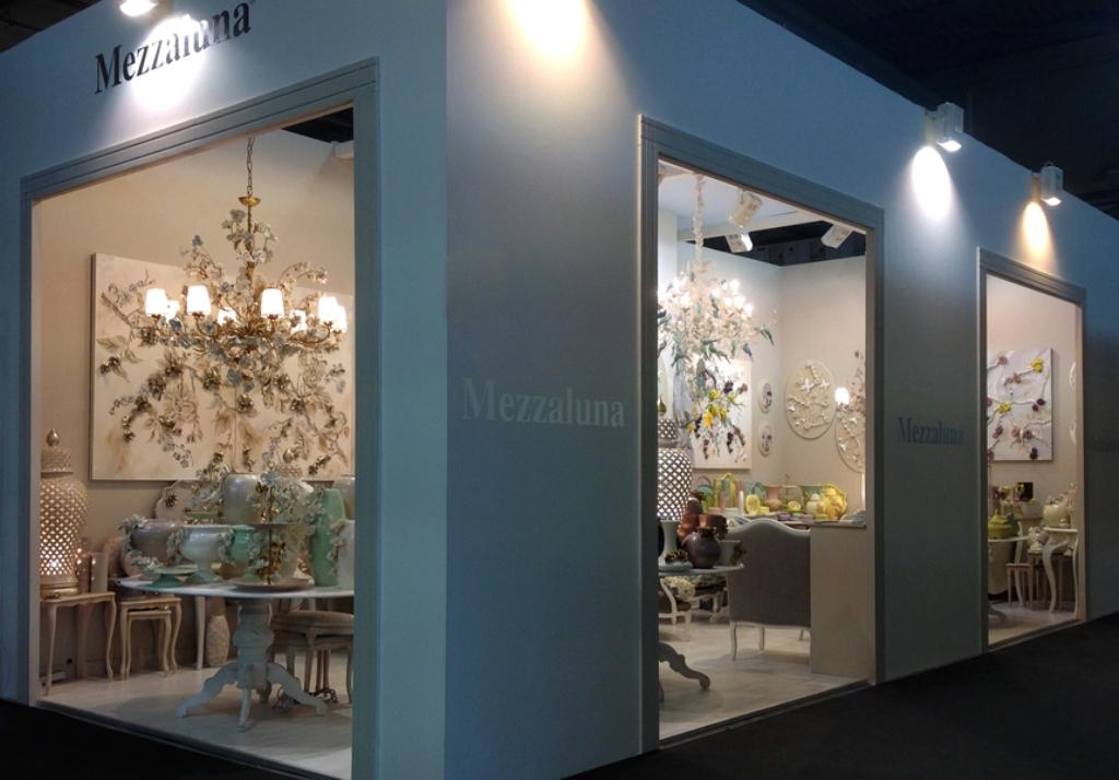 Cтенд Итальянской компании Mezzaluna на Московской выставке HOMI-2015
