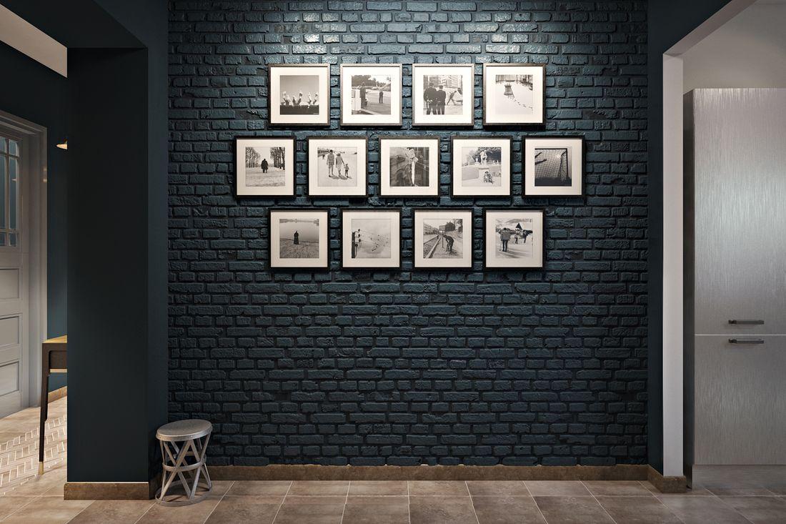 Интересная стена в стиле LOFT.