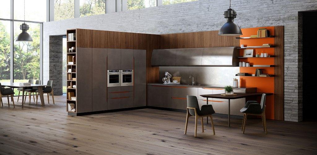 кухня MIAMI от фабрики Biefbi cucine
