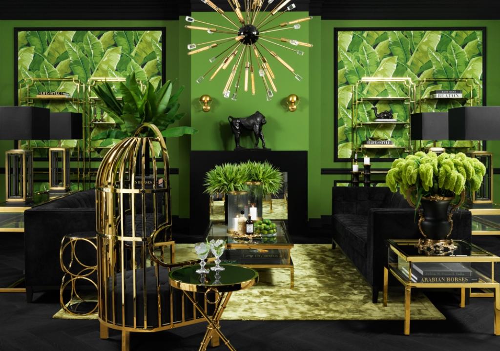 совместный стенд салона IDC Collection и голландской мебельной компании EICHHOLTZ