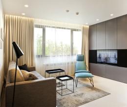 """Квартира в Софии в стиле: """"минимализм""""."""