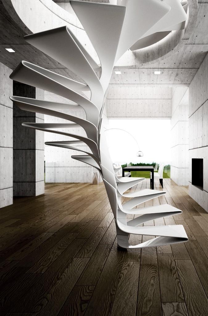 Лестница как интерактивная скульптура