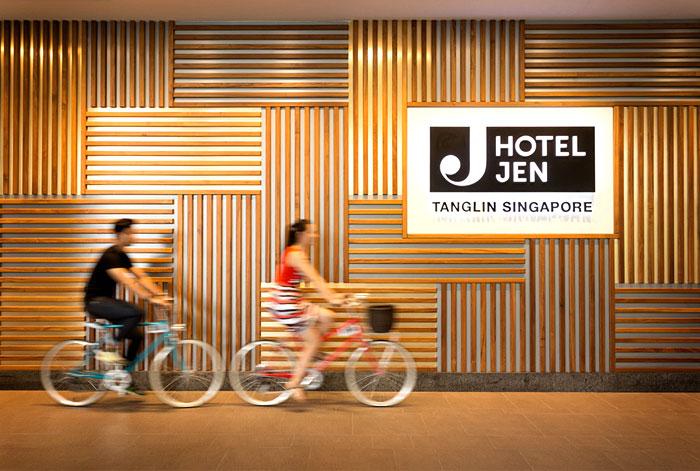На велосипеде по отелю