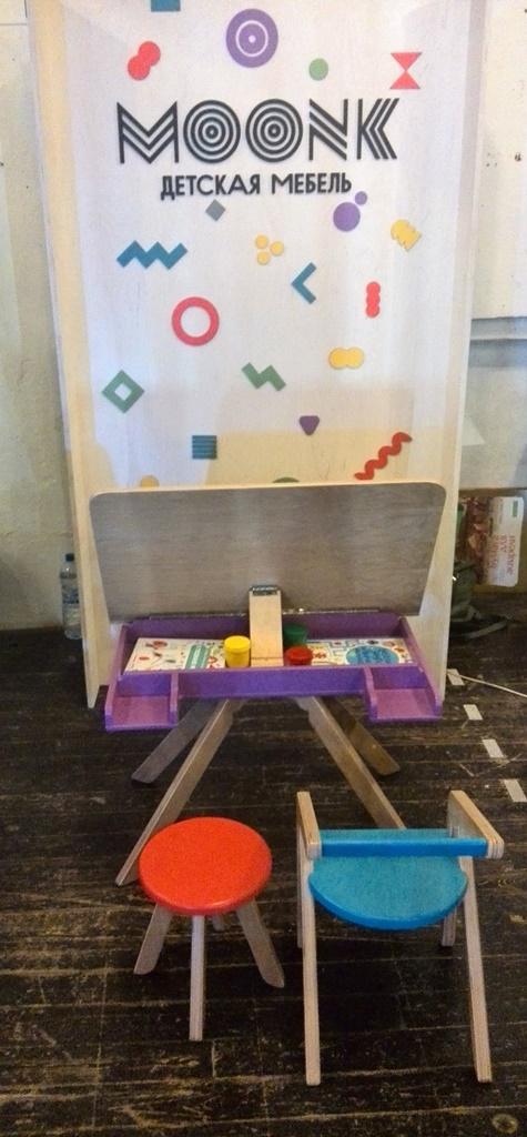 """Детская мебель от компании: """"MOONK"""""""