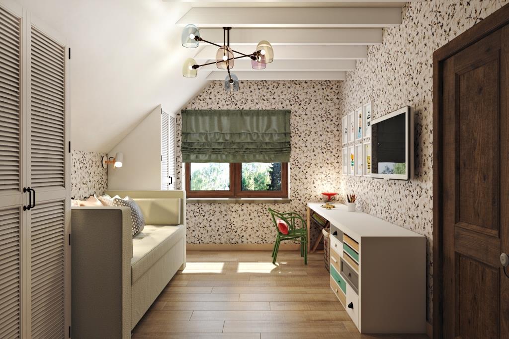 Комната для младшей дочери