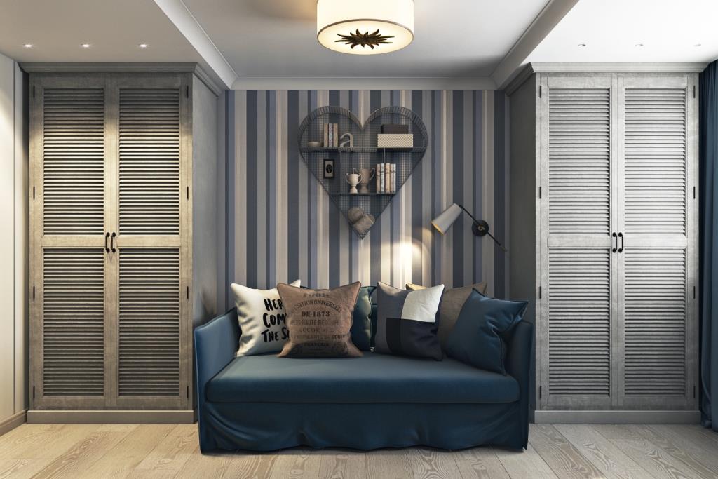 Классическая расстановка мебели