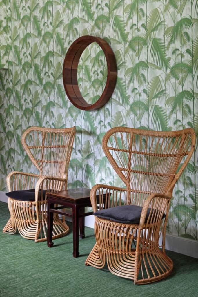 Кресла из ротанга для отдыха