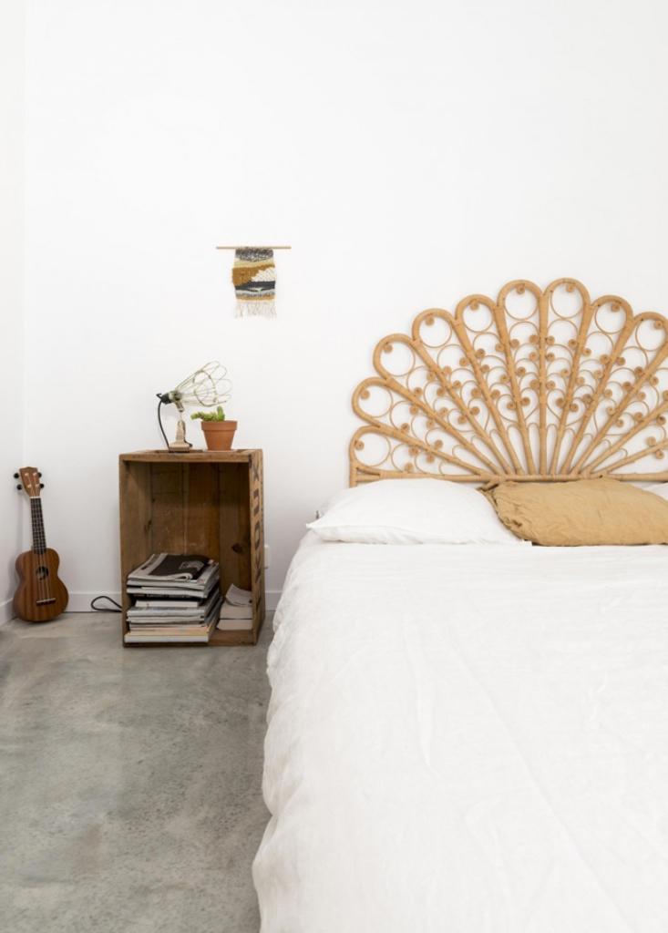 Минималистичная спальня в скандинавском стиле
