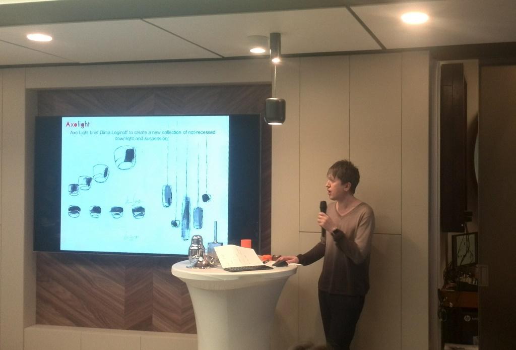 Дима Логинов представил новые коллекции светильников Urban и Urban mini