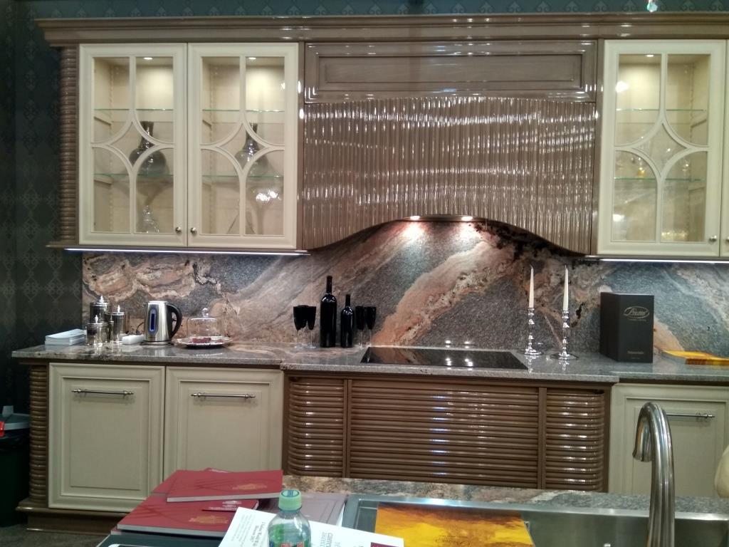 Кухня фабрики Prestige на стенде МБТМ - Мебельный салон №1