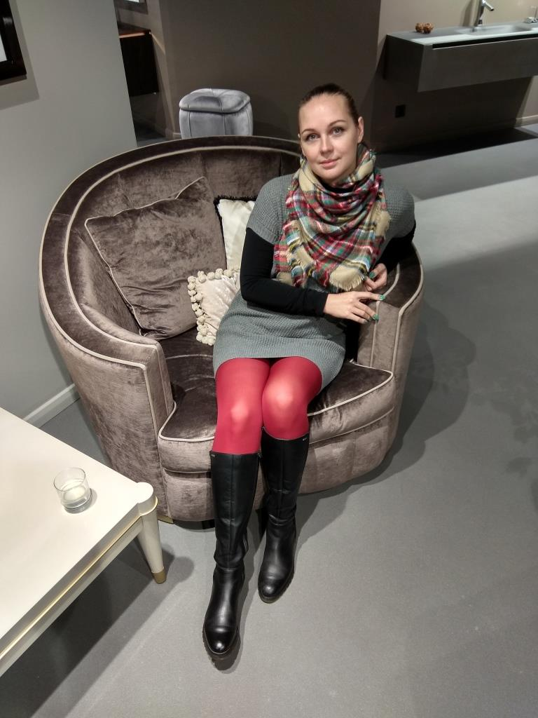 Алёна Чекалина в салоне Макслевел на презентации GESSI