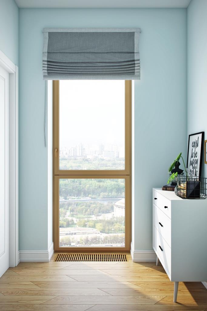 Окно визуально добавляет квадратные метры