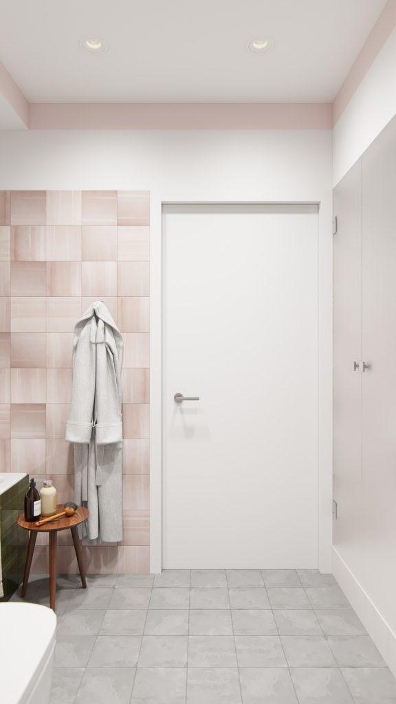 Скромная дверь
