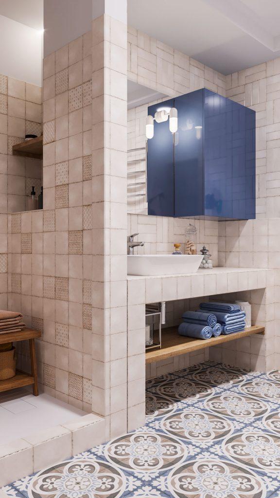 Место хранения в ванной