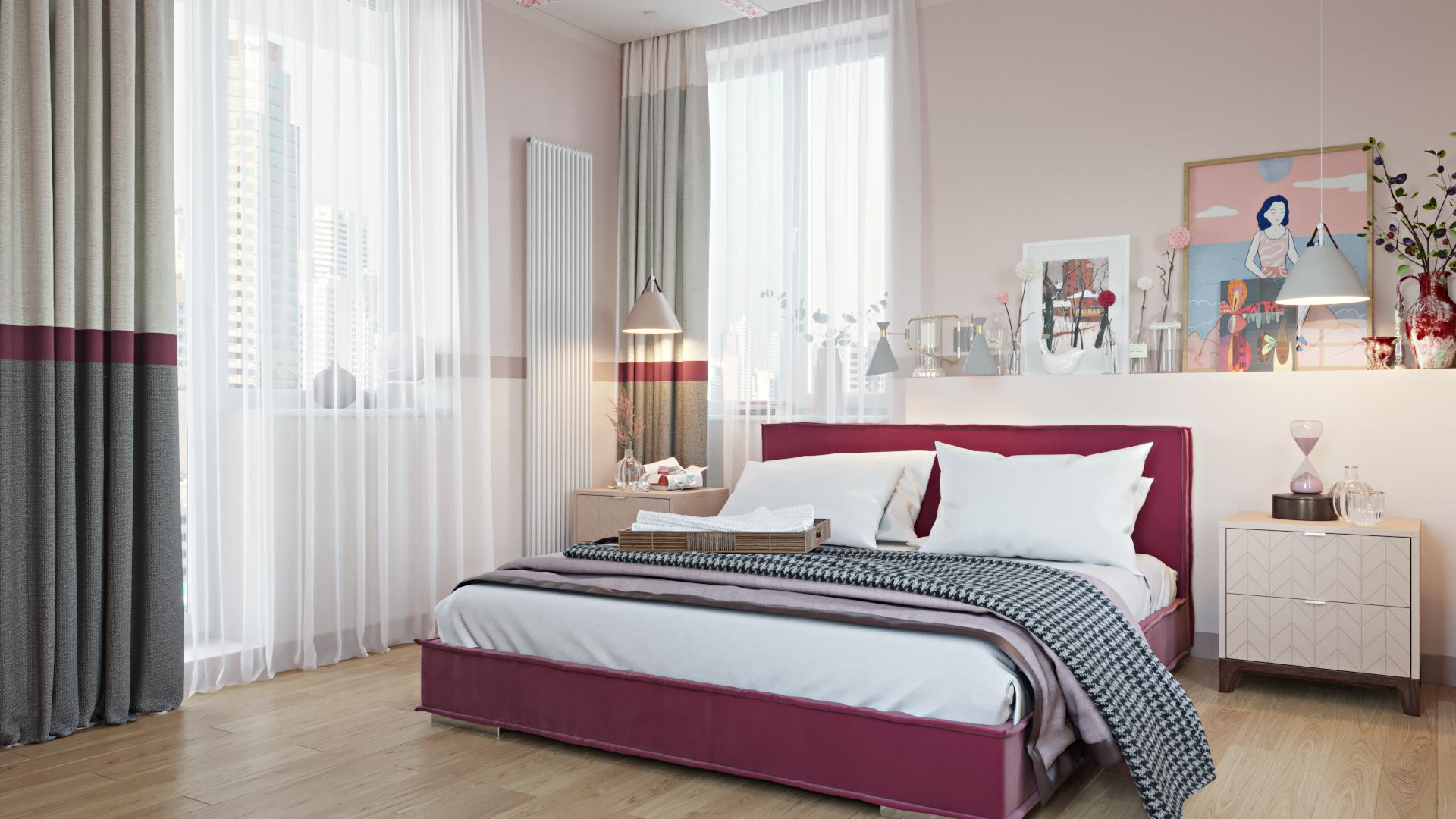 Хозяйская спальная комната