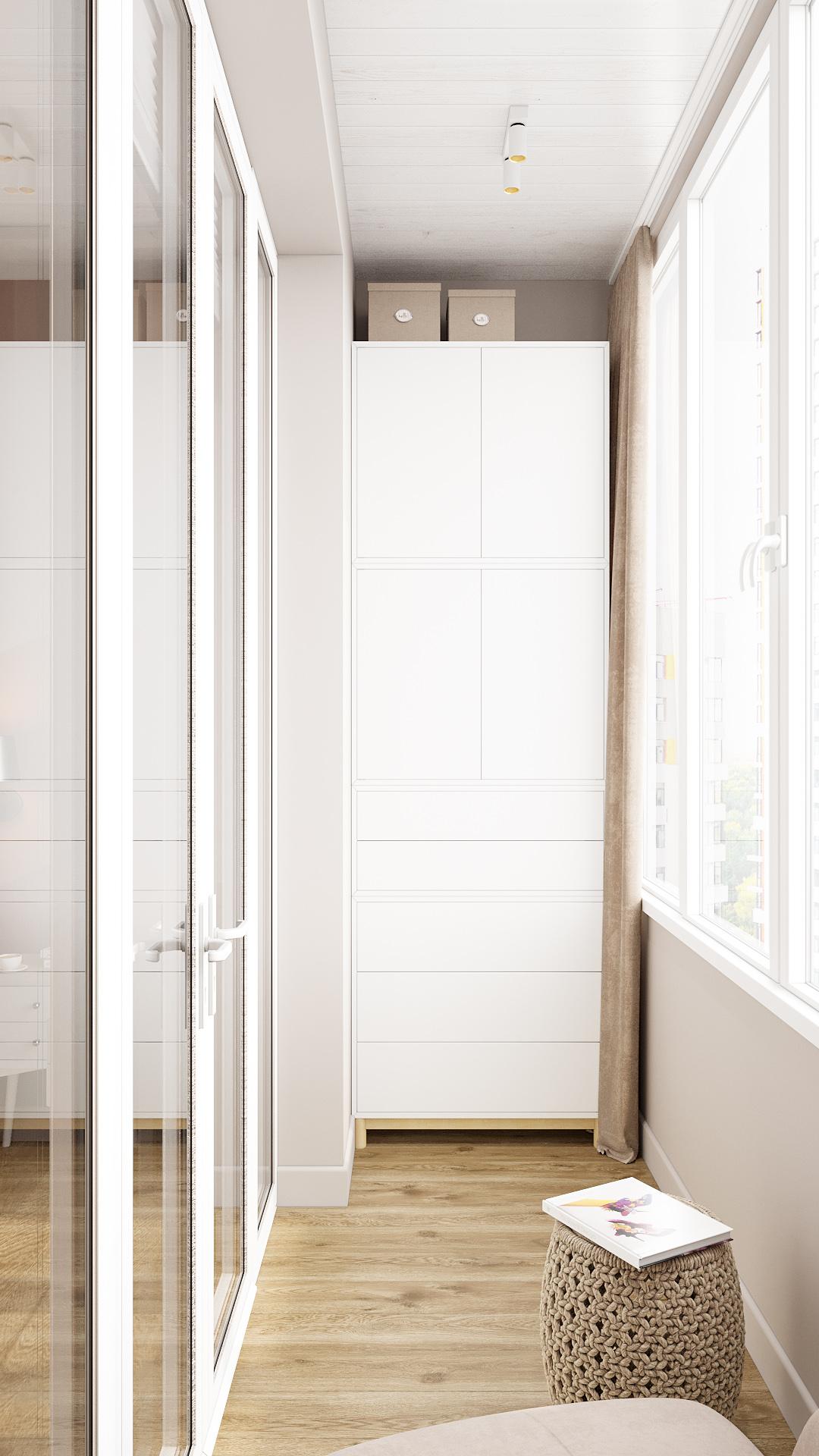 Балкон - как продолжение комнаты