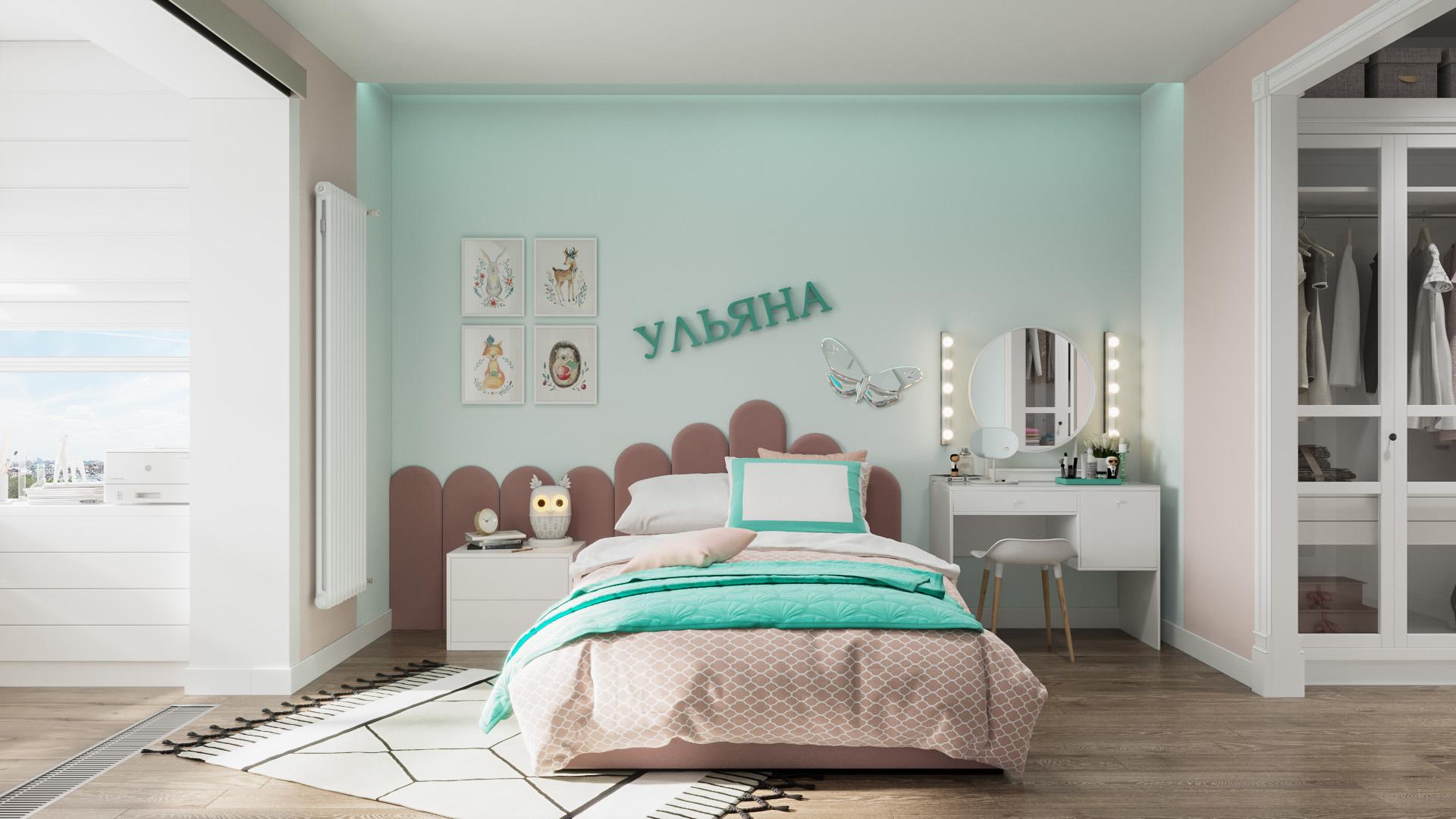 Спальное место для принцессы